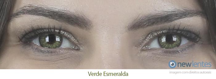 Lentes de Contato Coloridas FreshLook Colorblends Verde Esmeralda
