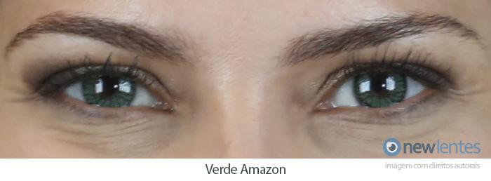 Lentes de Contato Coloridas Soflens StarColors II Verde Amazon