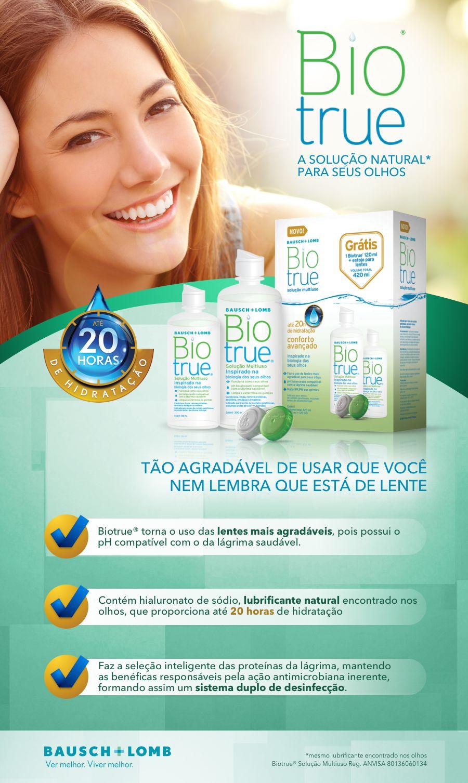 Solução para lentes de contato Biotrue