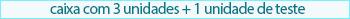 Promoção Selo Biosoft 3 unid mais teste