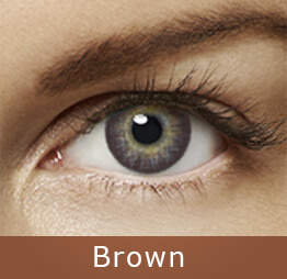 Lentes de contato Air Optix Colors Brown