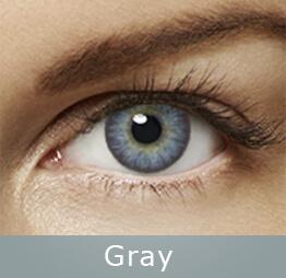 Lentes de contato Air Optix Colors Cinza