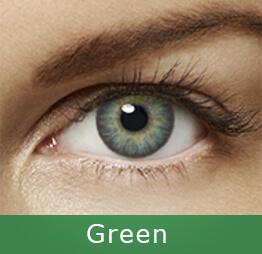 Lentes de contato Air Optix Colors Verde
