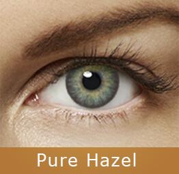 Lentes de contato Air Optix Colors Pure Hazel