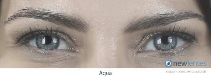 Lentes de Contato Coloridas COLOR VISION Aqua