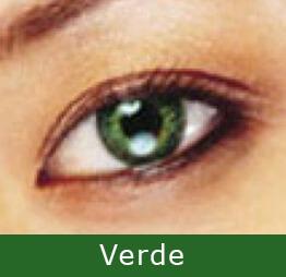 Lentes de Contato Coloridas - EXPRESSIONS COLORS Verde