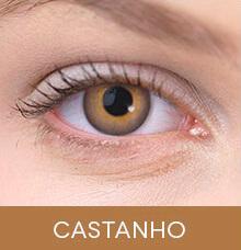 Lentes de contato coloridas Impressions Colors Castanho
