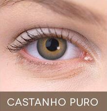 Lentes de contato coloridas Impressions Colors Castanho Puro