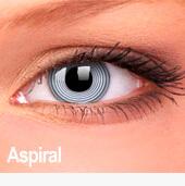 Lentes de contato Impressions Cores Especiais Aspiral