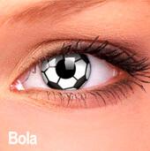 Lentes de contato Impressions Cores Especiais Bola