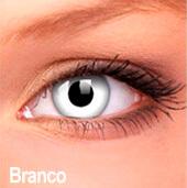 Lentes de contato Impressions Cores Especiais Branco