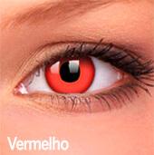 Lentes de contato Impressions Cores Especiais Vermelho