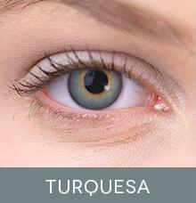 Lentes de contato coloridas Impressions Colors Turquesa