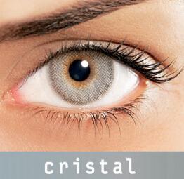 Lentes de Contato Coloridas Solflex Natural Colors Cristal