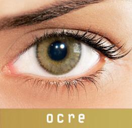Lentes de Contato Coloridas Solflex Natural Colors OCre