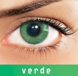 Lentes de Contato Coloridas Solflex Natural Colors Verde