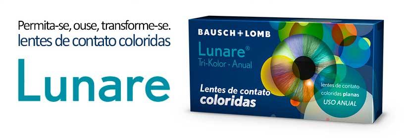 Lentes de Contato Colorida Lunare Tri-Kolor Anual