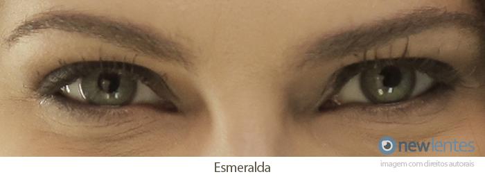 Lentes de Contato Coloridas Solflex Natural Colors Esmeralda