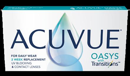 Caixa Lentes de Contato Acuvue Oasys Transitions