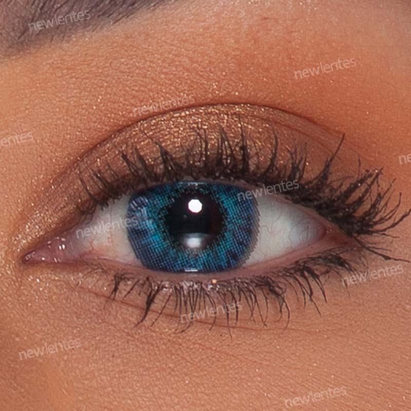 Lentes de Contato Colorida Air Optix Colors Brilliant Blue