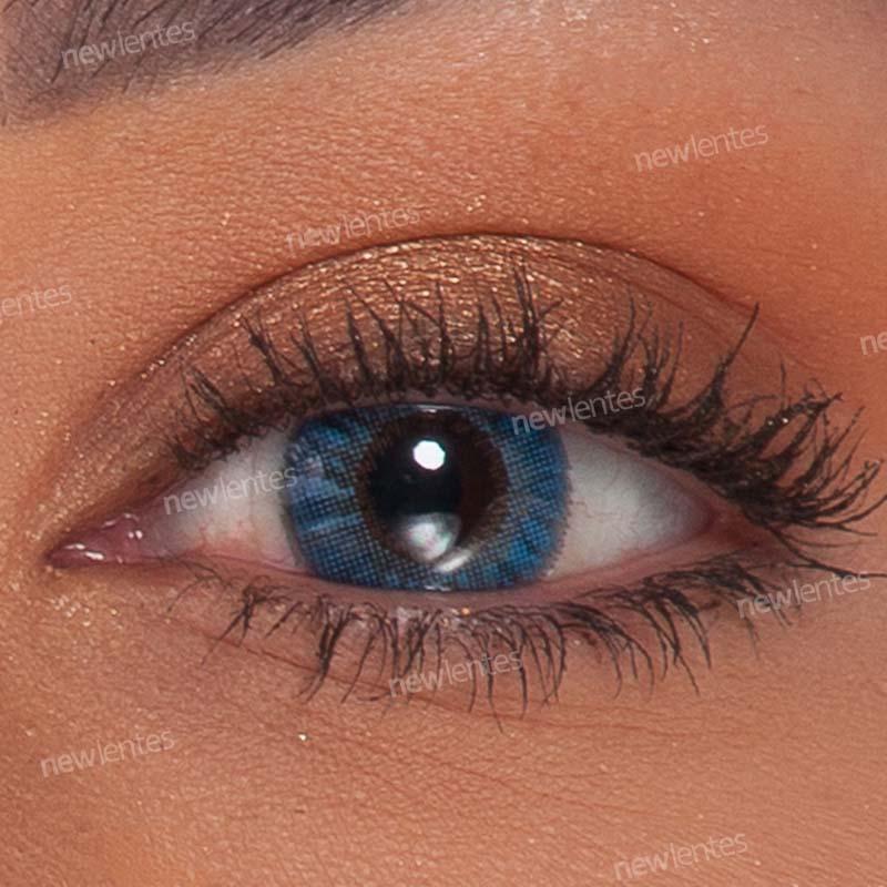 Lentes de Contato Colorida Air Optix Colors True Sapphire