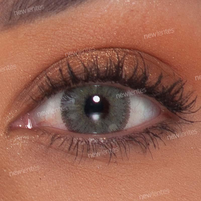 Lentes de Contato Colorida Natural Vision Esmeralda Glamour
