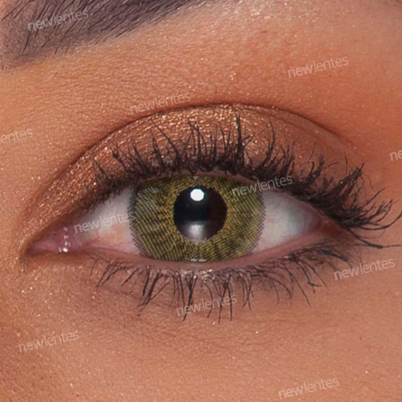 Lentes de Contato Colorida Natural Vision Verde Dreams