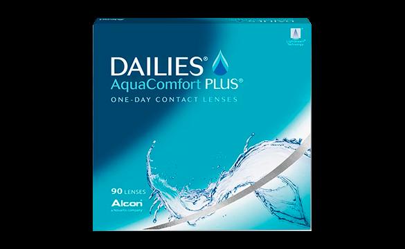 Lentes de contato Dailies AquaComfort Plus