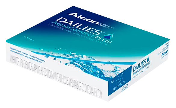 90 lentes Dailies AquaComfort Plus