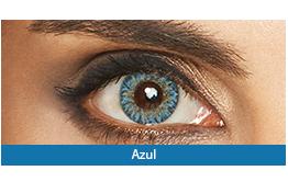 Lentes de Contato Colorida Lunare Tri-Kolor Mensal Azul