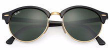Ray Ban RB4246 Clubround  51 - Preto - 1197/Z2