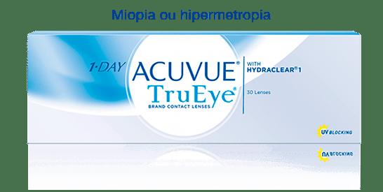 Lentes de contato Acuvue TruEye