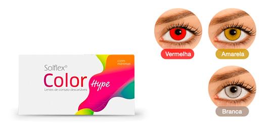 Lentes de contato Coloridas Color Hype