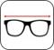 Altura dos óculos