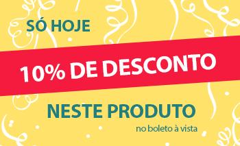 Promoção SELO 10% OFF NO BOLETO