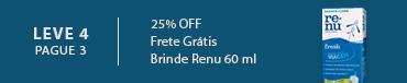 Promoção Combo Bausch com Renu 60 ml