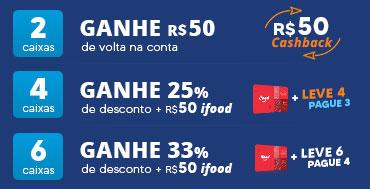 Promoção Acuvue - Cashback, Combo e iFood (2 4 6 cxs)
