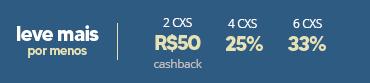 Promoção Acuvue Cashback + 25% + 33%